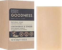 Naturseife Lemongrass & Ginger - Baylis & Harding Goodness Sea Lemongrass & Ginger Natutal Soap — Bild N1