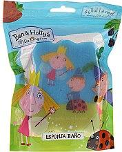 Düfte, Parfümerie und Kosmetik Kinder-Badeschwamm Ben & Holly blau-rosa - Suavipiel Ben & Holly Bath Sponge