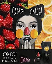 Düfte, Parfümerie und Kosmetik Gesichtspflegeset - Double Dare OMG! PEELING & PULLING SET (Gesichtspeeling 30ml + Gesichtspeeling 150ml + Bürste + Haarband)