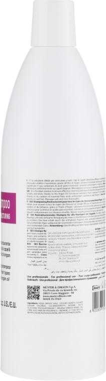 Erweichendes Shampoo mit Arganöl - Dikson S83 Restructuring Shampoo — Bild N2