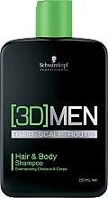 Düfte, Parfümerie und Kosmetik Haar und Körper Shampoo - Schwarzkopf Professional 3D Mension Hair & Body Shampoo