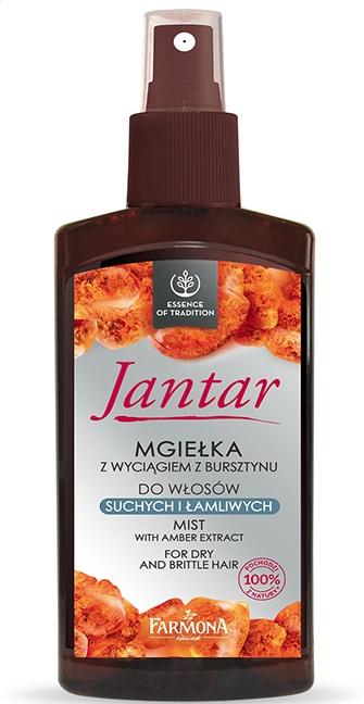 Haarspray für trockenes und sprödes Haar mit Amberextrakt - Farmona Jantar Mist For Dry And Brittle Hair — Bild N1