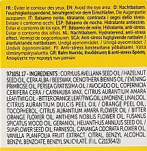 Feuchtigkeitsspendende Nachtcreme für Gesicht und Hals - Decleor Hydra Floral Aromessence Baume De Nuit Neroli Amara — Bild N3