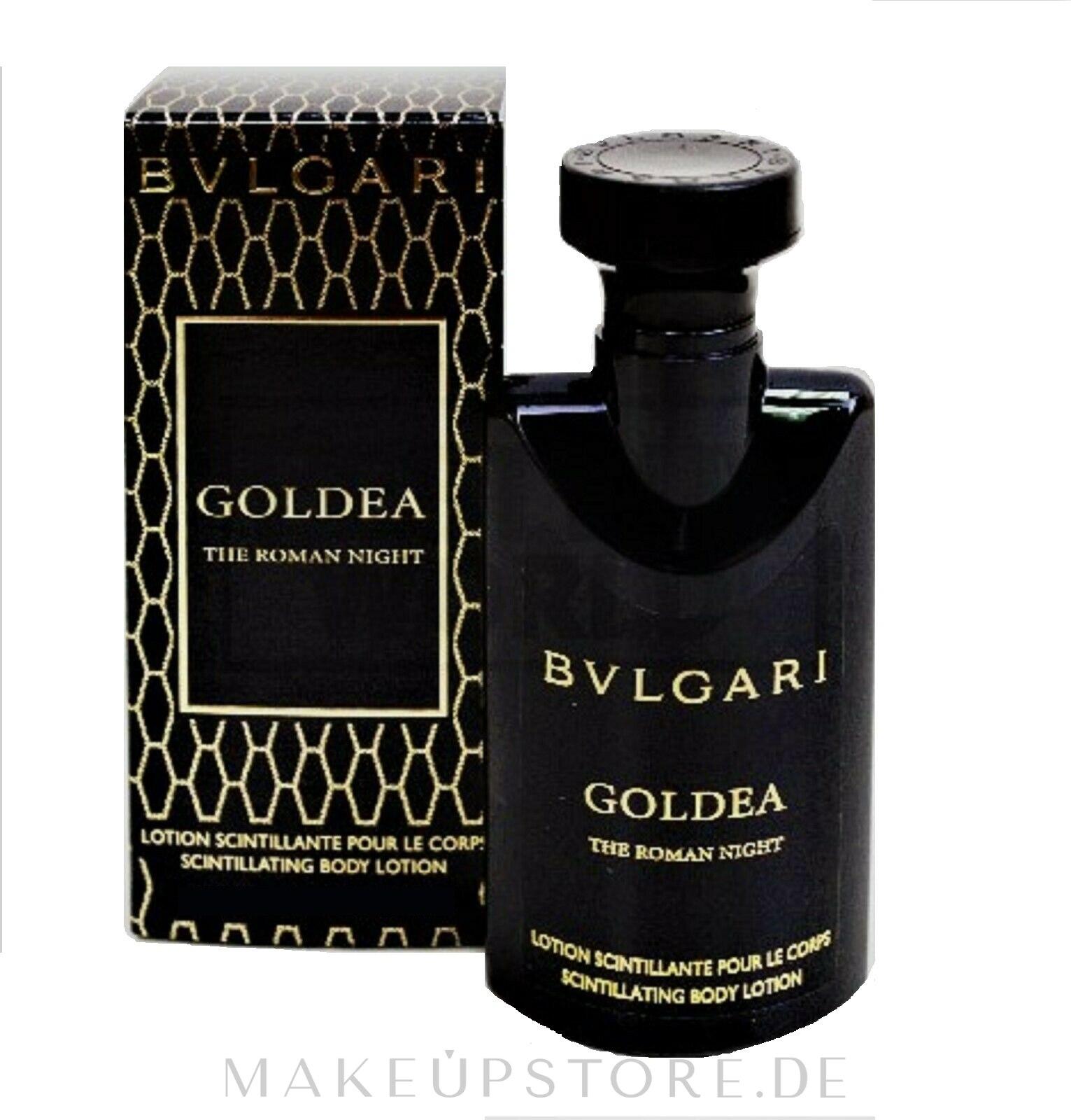 Bvlgari Goldea The Roman Night - Körperlotion — Bild 100 ml