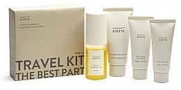 Düfte, Parfümerie und Kosmetik Gesichtspflegeset - Sioris Travel Kit (Gesichtsreinigungsmilch 30ml + Gesichtsnebel 30ml + Tagescreme 15ml + Nachtcreme 7ml)