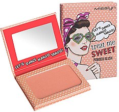 Düfte, Parfümerie und Kosmetik Gesichtsrouge - Misslyn Treat Me Sweet! Powder Blush