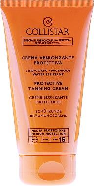 Sonnenschutzcreme für Gesicht und Körper - Collistar Crema Abbronzante Protettiva Media SPF15 — Bild N3