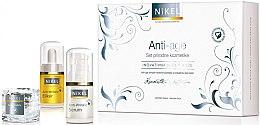 Düfte, Parfümerie und Kosmetik Augenpflegeset - Nikel Anti-Age (Anti-Falten Elixier/15ml + Augenserum/15ml + Anti-Falten Serum/15ml)