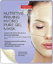 Düfte, Parfümerie und Kosmetik Nährende und straffende Gesichtsmaske - Purederm Nutritive Firming Hydro Pure Gel Mask