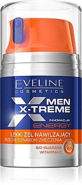 Leichtes Feuchtigkeitsgel gegen müde Haut - Eveline Cosmetics Men X-Treme Energy — Bild N1