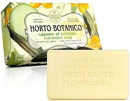 Düfte, Parfümerie und Kosmetik Naturseife Cucumber - Nesti Dante Nourishing & Moisturizing Soap Horto Botanico Collection