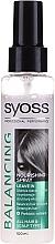 Düfte, Parfümerie und Kosmetik Nährendes Ausgleichsspray für alle Haar- und Kopfhauttypen - Syoss Balancing Spray