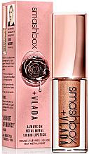Düfte, Parfümerie und Kosmetik Flüssiger Lippenstift mit metalischem Effekt - Smashbox Vlada Be Legendary Petal Metal Liquid Lip