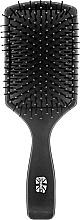 Düfte, Parfümerie und Kosmetik Paddelbürste 147 mm schwarz - Ronney Flat Brush