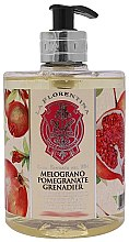 Düfte, Parfümerie und Kosmetik Flüssigseife Granatapfel - La Florentina Pomegranate Liquid Soap
