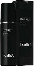 Düfte, Parfümerie und Kosmetik Ultraleichte Gesichtsemulsion mit Pflanzenextrakt für Männer - ForLLe'd Hyalogy Emulsion For Men