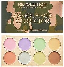 Düfte, Parfümerie und Kosmetik Highlighter-Palette - Makeup Revolution Camouflage Corrector Palette