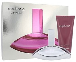 Düfte, Parfümerie und Kosmetik Calvin Klein Euphoria - Duftset (Eau de Parfum/100ml + Körperlotion/100ml)