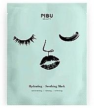 Düfte, Parfümerie und Kosmetik Feuchtigkeitsspendende und beruhigende Gesichtsmaske mit Schneckenschleim - Pibu Beauty Hydrating-Soothing Mask