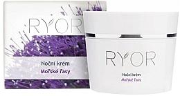 Düfte, Parfümerie und Kosmetik Feuchtigkeitsspendende Nachtcreme für das Gesicht mit Meeresalgen - Ryor Night Cream Marine Algae
