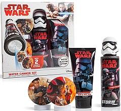 Düfte, Parfümerie und Kosmetik Geschenkset Star Wars - EP Line Star Wars Bath Battle Set (Duschgel 150 ml + Wasserpistole + Zielscheibe 2 St.)