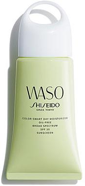 Ölfreie mattierende Gesichtscreme mit LSF 30 - Shiseido Waso Color-Smart Day Moisturizer Oil-Free SPF30 — Bild N1