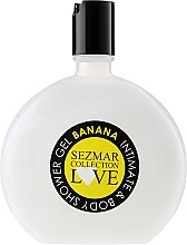 "Düfte, Parfümerie und Kosmetik Intimduschgel ""Banane"" - Hristina Cosmetics Sezmar Love Banana Intimate & Body Shower Gel"