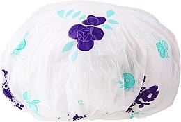 Düfte, Parfümerie und Kosmetik Duschhaube 9298 lila Blumen - Donegal Shower Cap