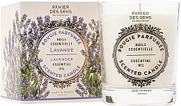 """Düfte, Parfümerie und Kosmetik Duftkerze im Glas """"Ein ruhiger und stiller Ort"""" - Panier Des Sens Decorative Scented Candle In Lavender Glass"""