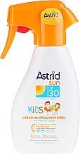 Düfte, Parfümerie und Kosmetik Sonnenschutzmilch-Spray für Kinder SPF 30 - Astrid Sun Kids Milk Spray SPF 30