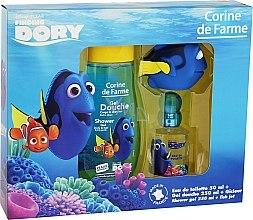 Düfte, Parfümerie und Kosmetik Corine de Farme Finding Dory - Duftset (Eau de Toilette 50ml + Duschgel 250ml + Spielzeug)