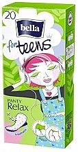 Düfte, Parfümerie und Kosmetik Slipeinlagen for Teens Panty Relax 20 St. - Bella