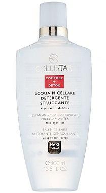 Collistar Cleansing Make-Up Remover Micellar Water - Mizellenwasser zum Abschminken für Gesicht, Lippen und Augen — Bild N1