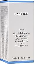 Düfte, Parfümerie und Kosmetik Aufhellendes Mizellenwasser für alle Hauttypen - Laneige Vitamin Brightening Cleansing Water