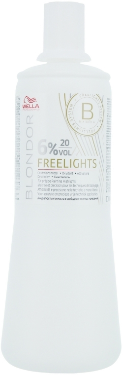 Oxidationsmittel 6% - Wella Professionals Blondor Freelights Oxydant 6% 20 vol
