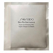 Düfte, Parfümerie und Kosmetik Anti-Aging exfolierende Discs für Gesicht - Shiseido Bio Performance Super Exfoliating