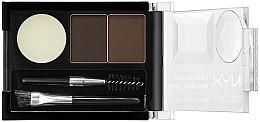 Düfte, Parfümerie und Kosmetik Augenbrauen Lidschatten - NYX Professional Makeup Eyebrow Cake Powder