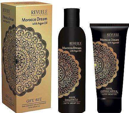 Haarpflegeset mit Arganöl - Revuele Morocco Dream (Shampoo 250ml + Haarspülung 200ml) — Bild N1