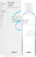 Düfte, Parfümerie und Kosmetik Feuchtigkeitsspendendes Gesichtstonikum mit Hyaluronsäure und Allantoin - Cosrx Hydrium Watery Toner