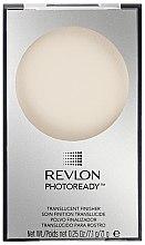 Düfte, Parfümerie und Kosmetik Transparenter Puder mit lichtreflektierenden Pigmenten - Revlon Photoready Translucent Finisher Face Powder
