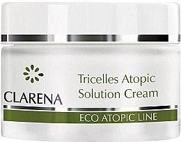 Düfte, Parfümerie und Kosmetik Feuchtigkeitsspendende und regenerierende Gesichtscreme für atopische und reife Haut - Clarena Tricelles Atopic Solution Cream