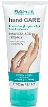 Düfte, Parfümerie und Kosmetik Feuchtigkeitsspendende Hand- und Nagelcreme - Floslek Hand Care Hand And Nail Cream Voisturizing And Smoothing