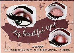Düfte, Parfümerie und Kosmetik Lidschattenpalette - Benefit Big Beautiful Eyes