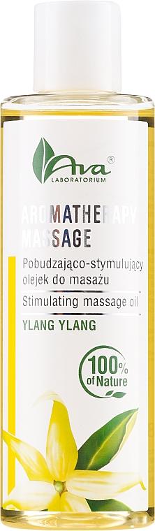 Stimulierendes Massageöl für Körper Ylang Ylang - Ava Laboratorium Aromatherapy Massage Stimulating Massage Oil Ylang-Ylang — Bild N1