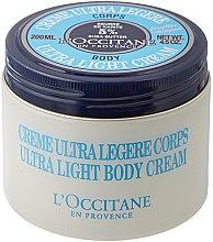 Düfte, Parfümerie und Kosmetik Ultra leichte Körpercreme mit Sheabutter - L'occitane Shea Butter Ultra Light Body Cream