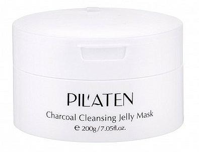 Feuchtigkeitsspendende, pflegende und reinigende Gesichtsmaske mit Papain und Bambuskohleextrakt - Pilaten Charcoal Cleansing Jelly Mask Face Mask — Bild N1
