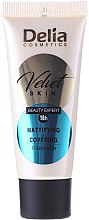 Düfte, Parfümerie und Kosmetik Mattierende Foundation - Delia Mineral Velvet Skin