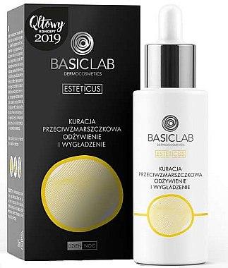 Pflegedes und glättendes Anti-Falten Gesichtsserum - BasicLab Dermocosmetics Esteticus — Bild N1