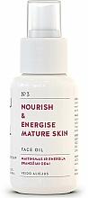 Düfte, Parfümerie und Kosmetik Nährendes und energiespendendes Gesichtsöl für reife Haut - You & Oil Nourish & Energise Mature Skin Face Oil
