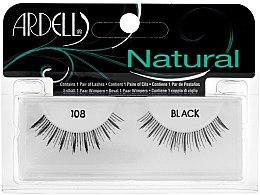 Düfte, Parfümerie und Kosmetik Künstliche Wimpern - Ardell Natural Demi Black 108